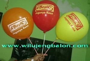 Balon Print, balon sablon
