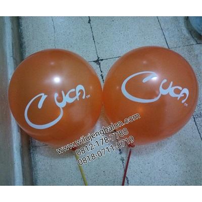 Balon Print CUCA Restaurant